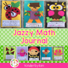 Kinderbykim&#039;s Jazzy Math Journal Packet