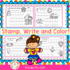 Kinderbykim's Stamp and Write!