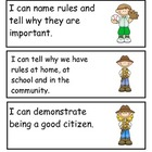 Kindergaren Florida Social Studies Standards in &quot;I Can&quot; Language