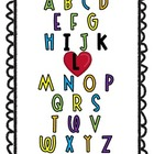 Kindergarten ABC Free Printable!
