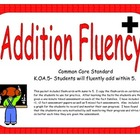 Kindergarten Addition Fluency