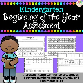 http://www.teacherspayteachers.com/Product/Kindergarten-Assessment-Beginning-of-the-Year-770192