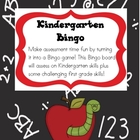 Kindergarten Bingo