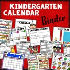 Kindergarten Calendar Binder - for student use
