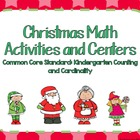 Kindergarten Christmas Math Activities and Centers Common 