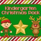 Kindergarten Christmas Pack ~ Printables + Game Cards Pre-K/K