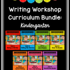 Kindergarten Common Core Aligned Writing Curriculum