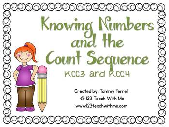 Kindergarten Common Core: All Counting and Cardinality Pac