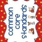 "Kindergarten Common Core ""I can"" statements and SCHOOLKIDS"