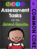 Kindergarten Common Core Math Assessment Tasks (Second Quarter)