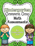 Kindergarten Common Core Math Assessments Packet