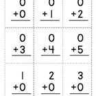 Kindergarten Common Core Math Fluency Flash Cards (CC.K.OA.5)