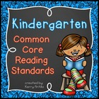 Kindergarten Common Core Reading Standards