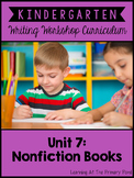 Kindergarten Common Core Writing Unit 7 {Nonfiction and Al