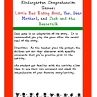 Kindergarten Comprehension Games