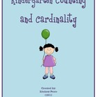 Kindergarten Counting and Cardinality Resources