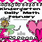 Kindergarten Daily Math Common Core Aligned - February