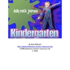Kindergarten Daily Math Journals