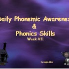 Kindergarten Daily Phonemic Awareness and Phonics Skills W