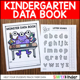 Monster Data Book {Freebie for Kinder}