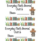 Kindergarten Bundled Math Journals 1-8