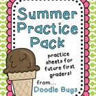 Kindergarten / Early First Grade Summer Practice Pack