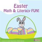 Kindergarten Easter Math &amp; Literacy Fun / Common Core - Al