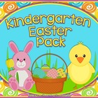 Kindergarten Easter Pack ~ Printables + Game Cards Pre-K/K