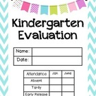 Kindergarten Evaluation