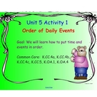 Kindergarten Everyday Math SMARTboard Activities for 5.1