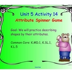 Kindergarten Everyday Math SMARTboard Activities for 5.14