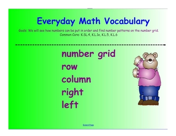 Kindergarten Everyday Math SMARTboard Activities for 5.16