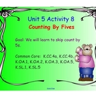 Kindergarten Everyday Math SMARTboard Activities for 5.8