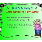 Kindergarten Everyday Math SMARTboard Activities for 5.9