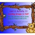 Kindergarten Everyday Math SMARTboard Activities for 6.11