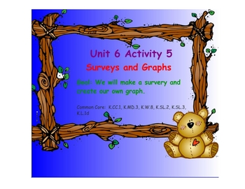 Kindergarten Everyday Math SMARTboard Activities for 6.5