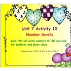 Kindergarten Everyday Math SMARTboard Activities for 7.10