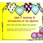 Kindergarten Everyday Math SMARTboard Activities for 7.5