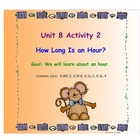 Kindergarten Everyday Math SMARTboard Activities for 8.2
