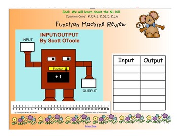 Kindergarten Everyday Math SMARTboard Activities for 8.7