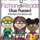 Kindergarten Fiction Close Read FREEBIE