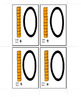 Kindergarten First Grade Base Ten Math Flash Cards