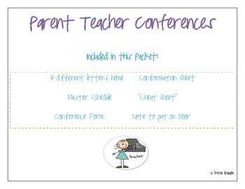 Kindergarten, First, Second, Third Grade Parent Teacher Co