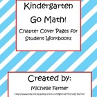 Kindergarten Go Math Cover Sheets
