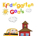 Kindergarten Goal Book Portfolio