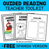 Common Core Guided Reading Pack (English & Spanish)