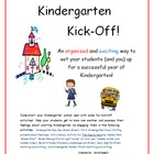 Kindergarten Kick-Off! Back-to-school interactive activiti