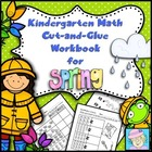 Kindergarten Math Common Core Cut-and-Glue Workbook:  Spri
