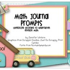 Kindergarten Math Journals (Label size)