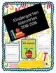 Kindergarten Memories- End of the year activities and memory book